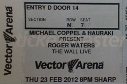 Roger Waters The Wall Live in New Zealand