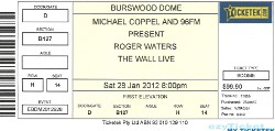 Roger Waters The Wall Live - Perth ticket