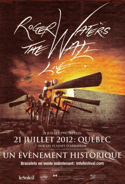 Roger Waters - The Wall, Quebec City, 2012