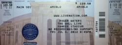 Roger Waters - Yankee Stadium 2012 ticket