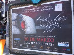 Roger Waters The Wall Live 2012 poster
