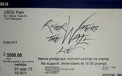Roger Waters - Belgrade, 2013