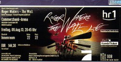 Roger Waters - Frankfurt 2013 ticket