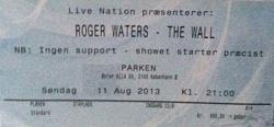 Roger Waters - Parken, Copenhagen 2013