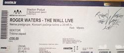 Roger Waters - Split, Croatia ticket 2013