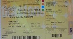 Roger Waters, Padova, Italy 2013