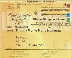 Roger Waters - Rome 28th July 2013