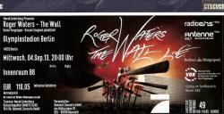 Roger Waters - Berlin 2013 ticket