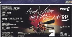 Roger Waters - Dusseldorf 2013 ticket
