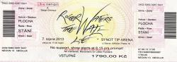 Roger Waters 2013 ticket