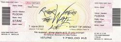 Roger Waters 2013 ticket
