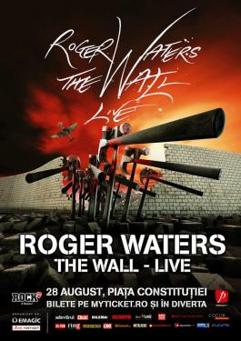 Roger Waters - Bucharest, Romania 2013 concert poster