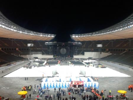 Berlin Olympiastadion - after Roger Waters concert, 2013