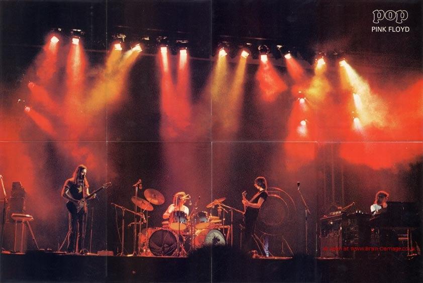 Pink floyd tour dates