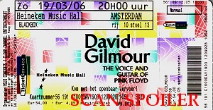 Amsterdam ticket