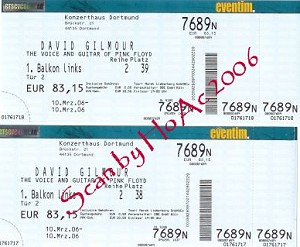 Konzerthaus ticket