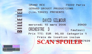 Le Grand Rex ticket