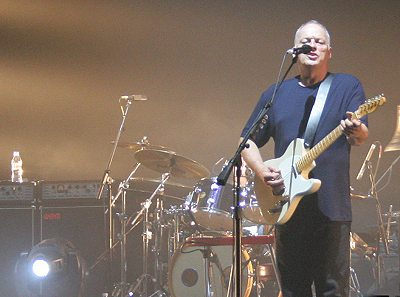 David Gilmour in Manchester