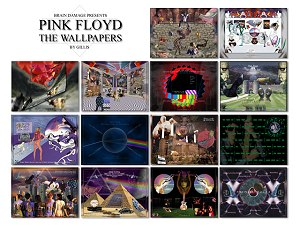 Pink Floyd Wallpaper design