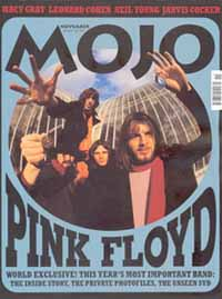 Mojo Magazine, UK, November 2001 with Pink Floyd special
