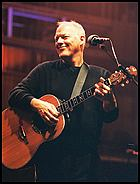 David Gilmour on stage for the live DVD, David Gilmour In Concert