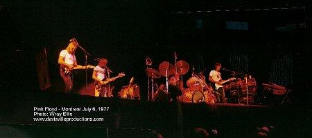 Pink Floyd Montreal 1977