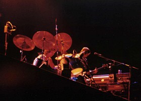 Pink Floyd Montreal 1977 - Nick & Roger