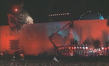 Roger Waters Wall Live 02 Arena w/David Gilmour 5-12-11 2DVD set