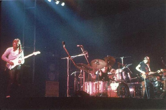 Pink Floyd, Brighton Dome, 20th January 1972