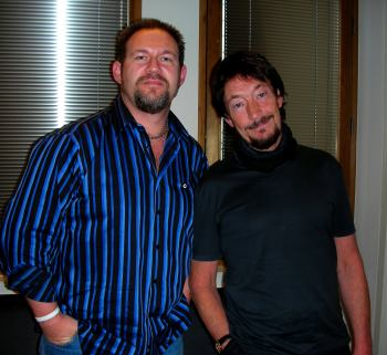 Chris Rea and Mark Cunningham