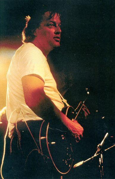 Gilmour y las drogas