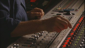 Pink Floyd's Dark Side Of The Moon - Classic Albums DVD - David at the mixing desk