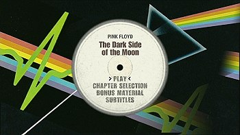 Pink Floyd's Dark Side Of The Moon - Classic Albums DVD - main menu