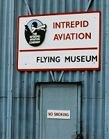 Intrepid Aviation sign