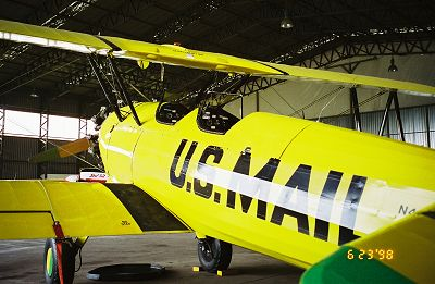 Boeing Stearman from 1944