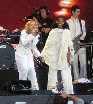 Birham Woldu & Madonna