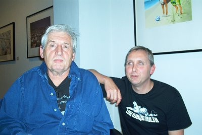 Storm Thorgerson and Peter Curzon