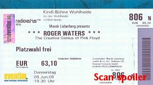 Wuhlheide Ticket