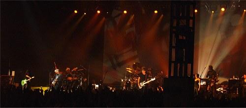 Roger Waters and Nick Mason, Cork