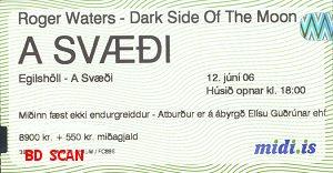 Egilsholl Arena ticket