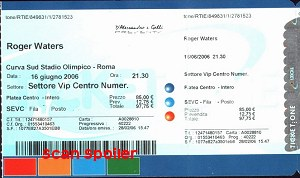 Stadio Olimpico ticket